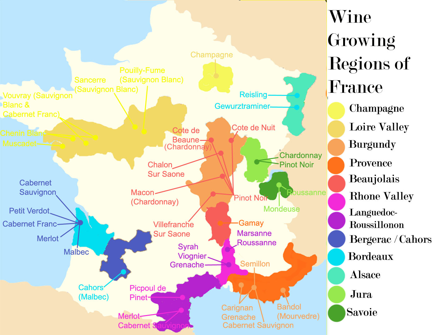 No wonder no one likes the french forget burgundy for Champagne region in france